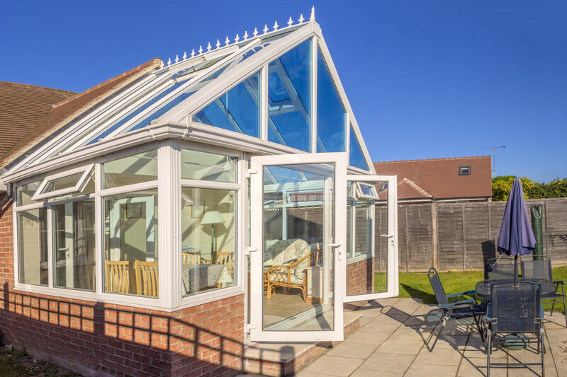 Glass Conservatory in Norwich Norfolk
